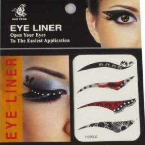 Eye Liner Tattoos Shadow Sticker Makeup eyeliner Beauty Water Transfer, 4 Pairs HSB032