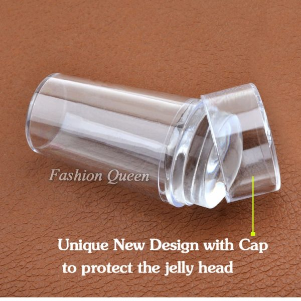 Clear Jelly Nail Stamper