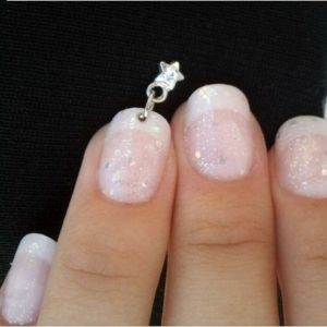 4 3D Rhinestones Dangles Charms Acrylic UV Gel Nail Art Decoration Accessories