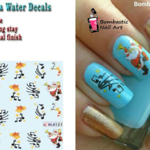 Christmas Nail Water Decal