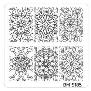 10pc-nature-themed-nail-stamp-plates---mystic-woods-set-2 BM-S185