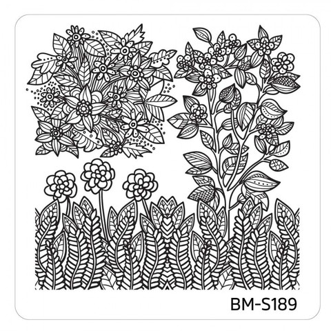 10pc-nature-themed-nail-stamp-plates---mystic-woods-set-2 BM-S189