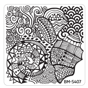 10pc-hangloose-collection-themed-nail-stamp-plates---mystic-bundle-monster BM-S407