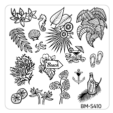 10pc-hangloose-collection-themed-nail-stamp-plates---mystic-bundle-monster BM-S410