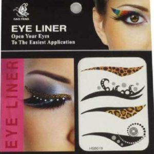 Eye Liner Tattoos Shadow Sticker Makeup eyeliner Beauty Water Transfer, 4 Pairs HSB019