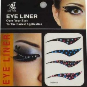 Eye Liner Tattoos Shadow Sticker Makeup eyeliner Beauty Water Transfer, 4 Pairs HSB029