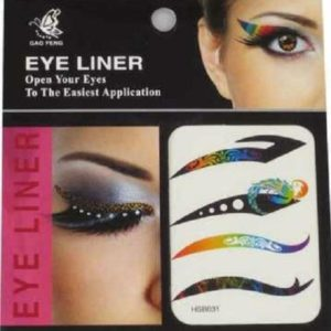 Eye Liner Tattoos Shadow Sticker Makeup eyeliner Beauty Water Transfer, 4 Pairs HSB031