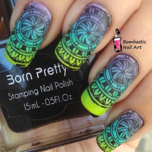 BLACK Born Pretty 15 ml Stamping Nail Polish Art New Sweet Color Nail Varnish