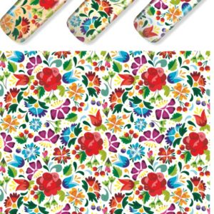 N620 Big Flower Lace Nail Art Stickers Water Transfer Slider Decals Latest