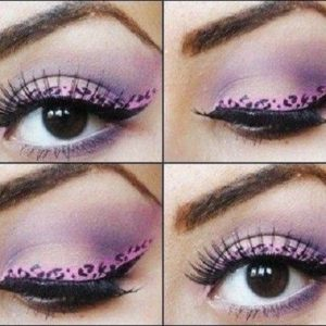 Eye Liner Tattoos Shadow Sticker Makeup eyeliner Beauty Water Transfer, 4 Pairs