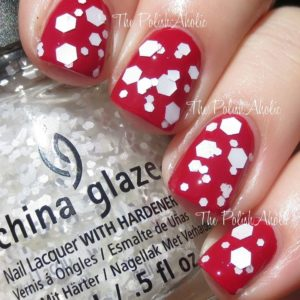 New CHINA GLAZE Twinkle Collection Chilling with my snow mies - 81936