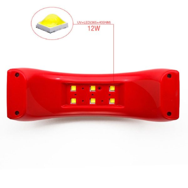 12W UV Led Nail Lamp Dryer Curing Gel Polish 1