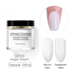 Born-Pretty-Dipping-System-Color-Powder-Natural-French-White-DP03
