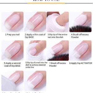 How to use Born Pretty Dipping Powder System Liquid