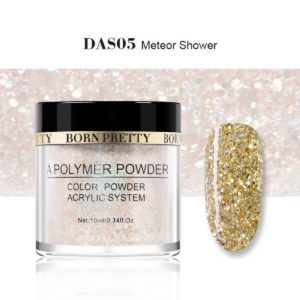 Born Pretty Acrylic Powder Polymer DAS05 Meteor Shower 1