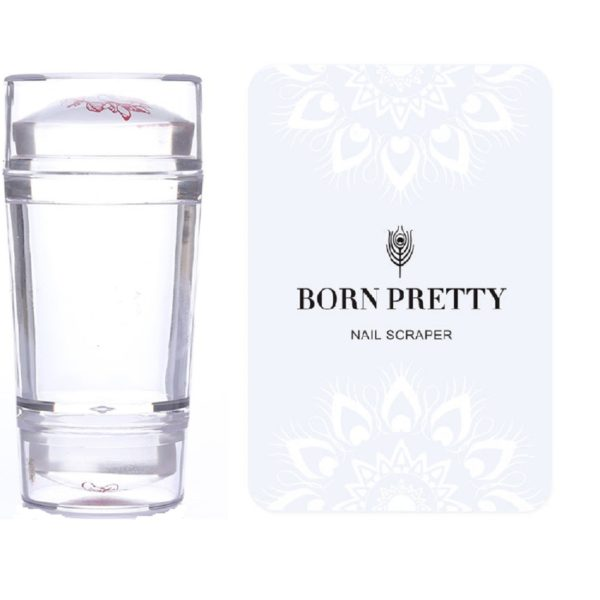 Born-pretty-dual-ended-nail-stamper-clear-jelly-transparent-scraper-stamping